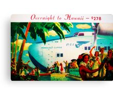 Overnight on the Clipper Canvas Print