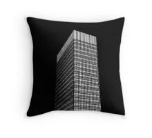 Sheffield University Arts Tower- Black Throw Pillow