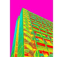 Parkhill popart (part 5 of 6) Photographic Print