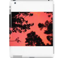 Sunset in orange. iPad Case/Skin