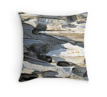 """Nature's Abstracts"" Throw Pillow"