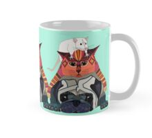 mouse cat pug mint Mug