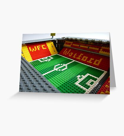 Vicarage Road Greeting Card