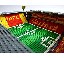 Vicarage Road Photographic Print
