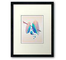 New world Framed Print
