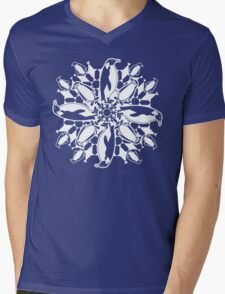 Penguin ZOOFLAKE Mens V-Neck T-Shirt