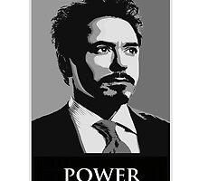 Robert Downey Junior by Salomé Leclerc