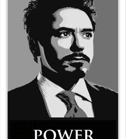 Robert Downey Junior Sticker
