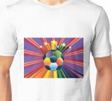 Soccer Ball with Stars Unisex T-Shirt