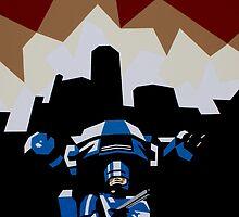 RoboCop by iankingart