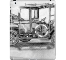 Vintage or Classical Auto Gas iPad Case/Skin