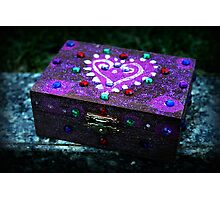 Jewelry box Photographic Print