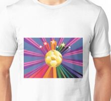 Soccer Ball with Stars 2 Unisex T-Shirt