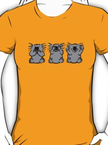 hear no evil,see no evil,speak no evil T-Shirt