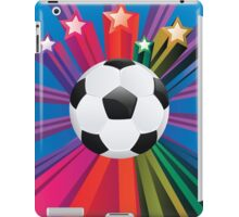 Soccer Ball with Stars 3 iPad Case/Skin