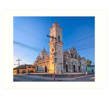 Iglesia la Merced - Old Catholic Church In Granada, Nicaragua Art Print