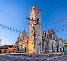 Iglesia la Merced - Old Catholic Church In Granada, Nicaragua by Mark Tisdale