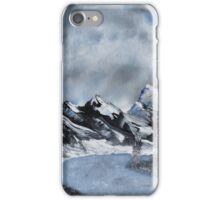 High Country Winter iPhone Case/Skin
