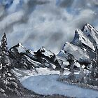 High Country Winter by Jack G Brauer