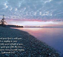 Zephaniah 3:17 by Appel