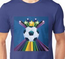 Soccer Ball with Stars 6 Unisex T-Shirt
