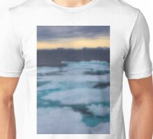 Nordkappsundet Mountains and Ice Field Unisex T-Shirt
