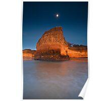 Anglesea Moon Poster