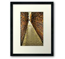 Fan Tan Alley Framed Print