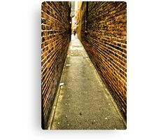 Fan Tan Alley Canvas Print