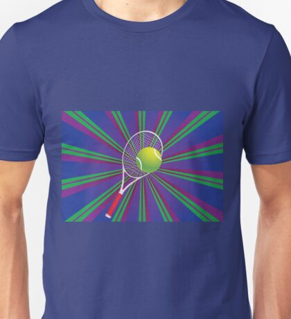 Tennis Ball and Racket 2 Unisex T-Shirt