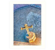 Granada Cross - Christian Cross In Nicaragua Art Print
