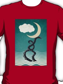 The octopus and the sea II (a lullaby) T-Shirt