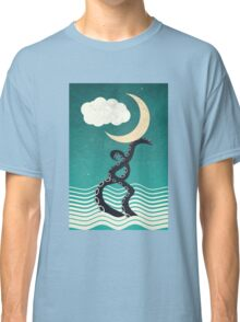 The octopus and the sea II (a lullaby) Classic T-Shirt