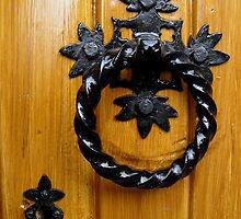 Door Knocker by Orla Cahill