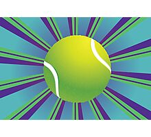 Tennis Ball Background 2 Photographic Print