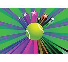 Tennis Ball Background 2 Photographic Print