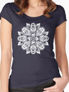 Gorilla ZOOFLAKE Women's Fitted Scoop T-Shirt