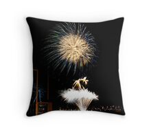 New Years Eve Fireworks 1 Throw Pillow