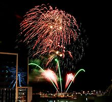 New Years Eve Fireworks 2 by orianne