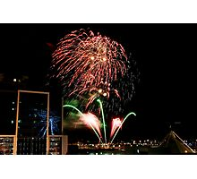 New Years Eve Fireworks 2 Photographic Print