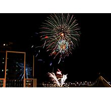 New Years Eve Fireworks 3 Photographic Print