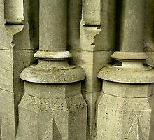 Architectural Pillars by Orla Cahill