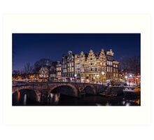 Amsterdam - Papiermolensluis Art Print