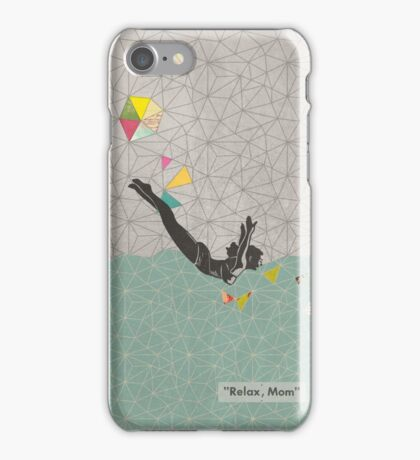 Relax Mom iPhone Case/Skin