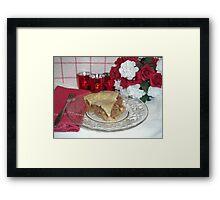 A Valentine Treat Framed Print