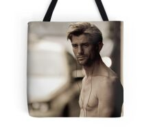 Walk-man Tote Bag