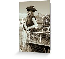Ophelia Dik, Queen of the Pirates Greeting Card