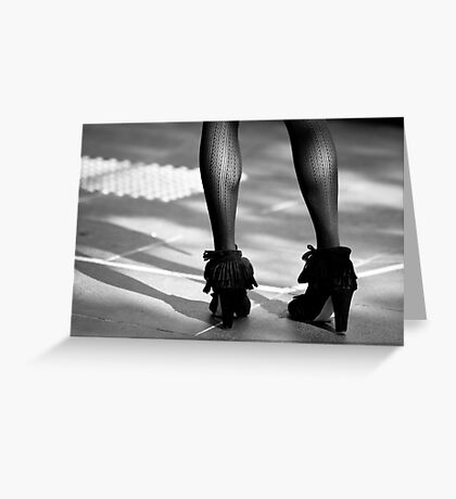 These Boots Are Made For Walking Greeting Card