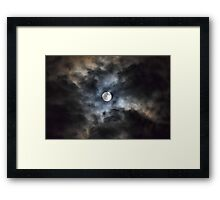 As Is~ Full Moon~ 3/9/2015 Framed Print