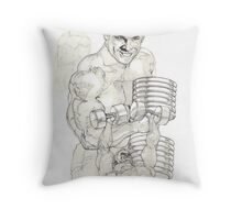No Pain... Throw Pillow